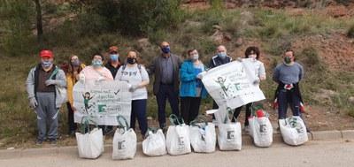 El Centre Ocupacional d'Ampans també se suma a la jornada Let's Clean Europe.