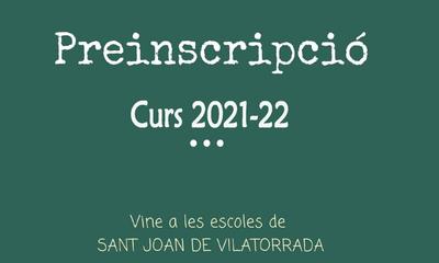 Preinscripcions 2021-22: Número de desempat.