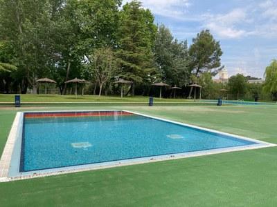 Les piscines municipals ja estan a punt.