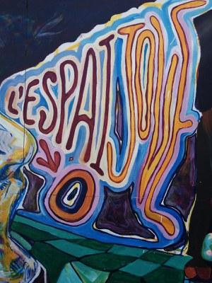 Mural Espai Jove