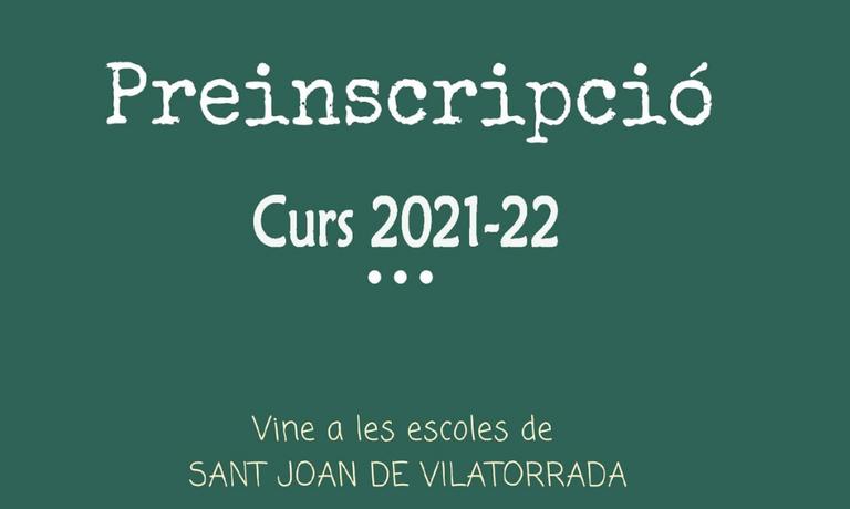 Preinscripcions 2021-22