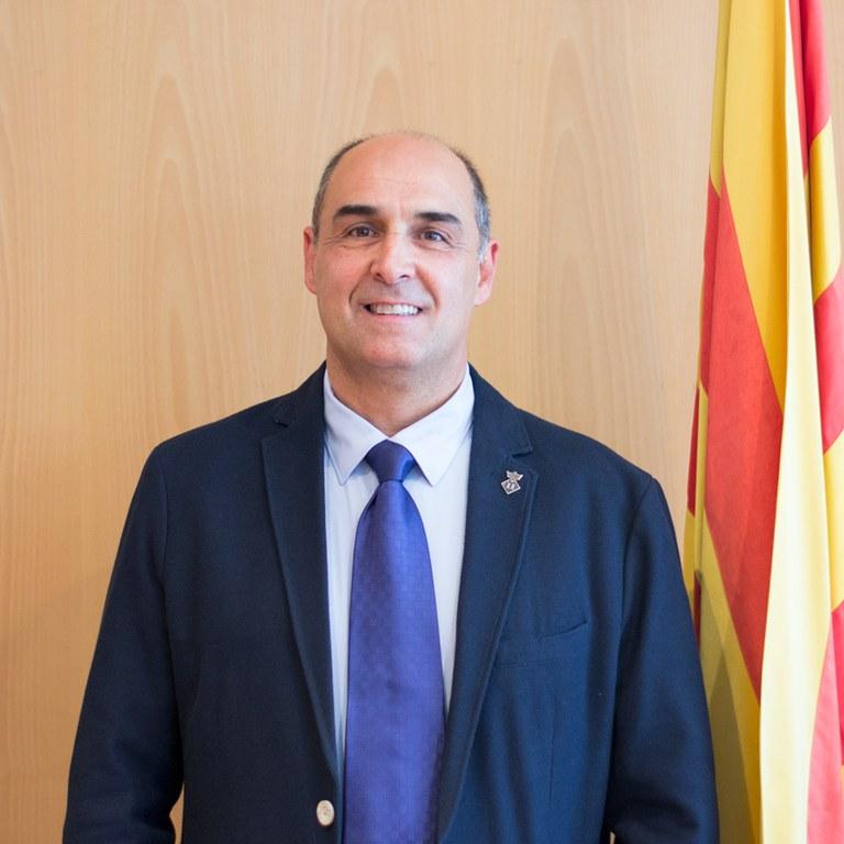 Jordi Solernou, actual alcalde de Sant Joan de Vilatorrada