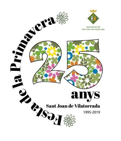 Logo del 25è aniversari de la Festa, l'any 2019