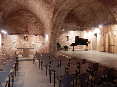Centre cultural del Mas Sant Joan - interior