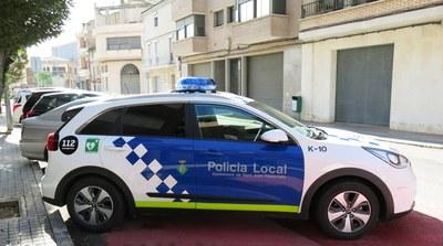 Cotxe de la Policia Local